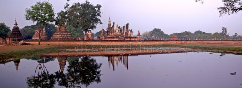 mahathat sukhothai Ταϊλάνδη wat στοκ φωτογραφία με δικαίωμα ελεύθερης χρήσης