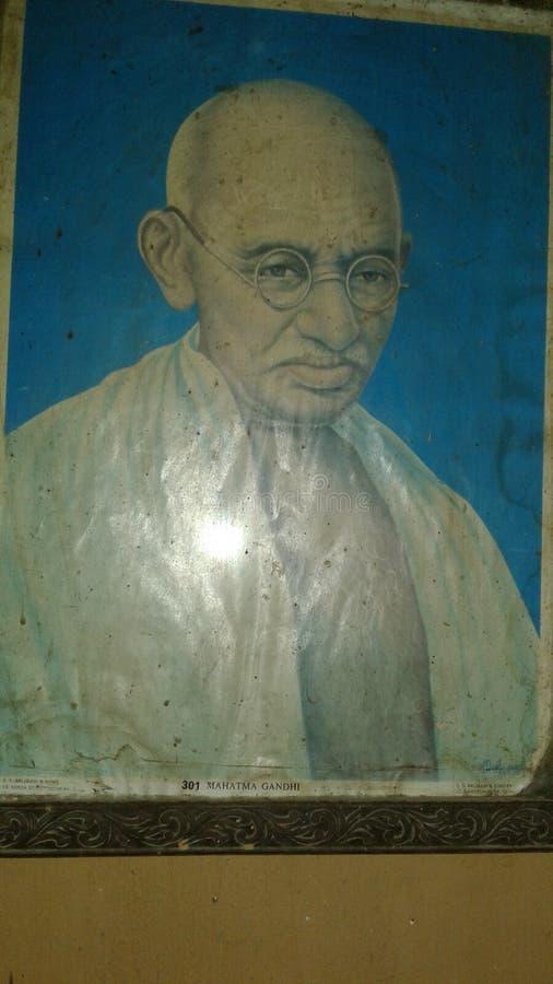Mahatma Gandhi photographie stock