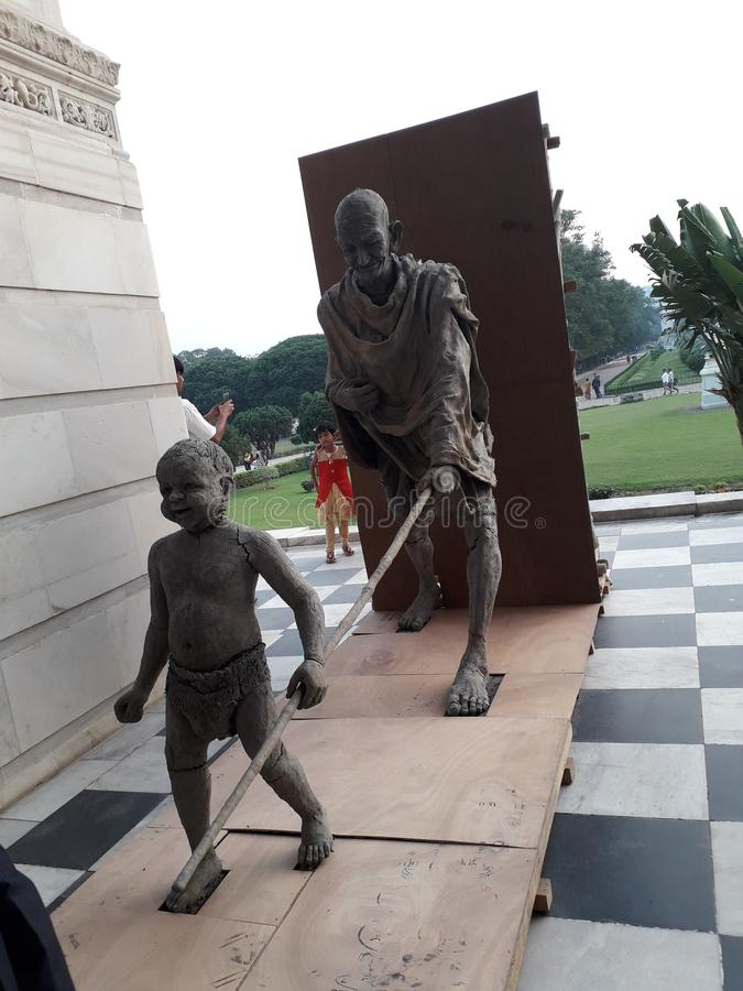 Mahatma Gandhi fotografie stock libere da diritti