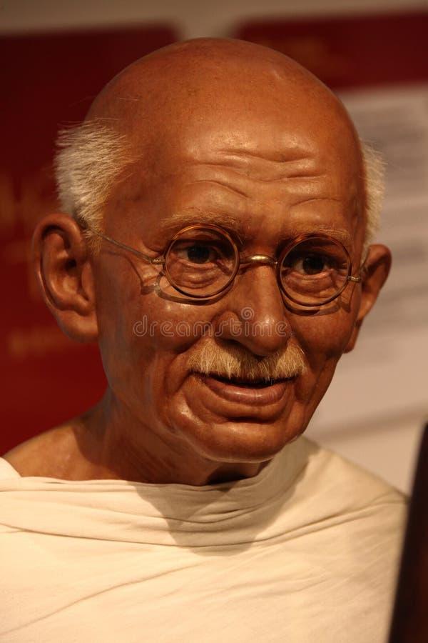 Mahatma Gandhi royaltyfria bilder