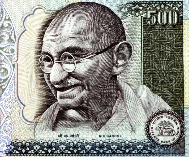 Mahatma Gandhi stock foto's