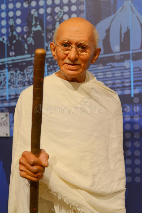 Mahatma Gandhi photo stock
