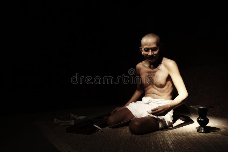 Mahatma Gandhi arkivbilder