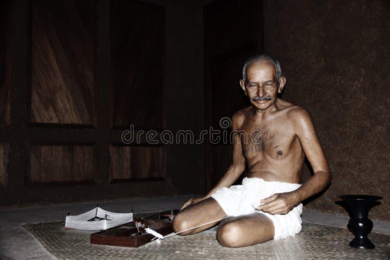 Mahatma Gandhi lizenzfreie stockbilder