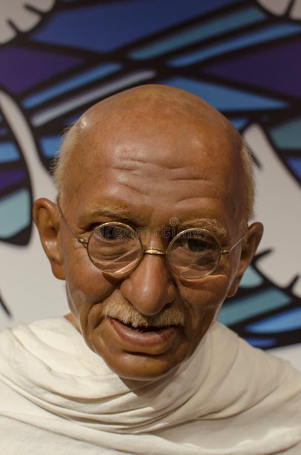 Download Mahatma gandhi editorial stock image. Image of tussauds - 30528499