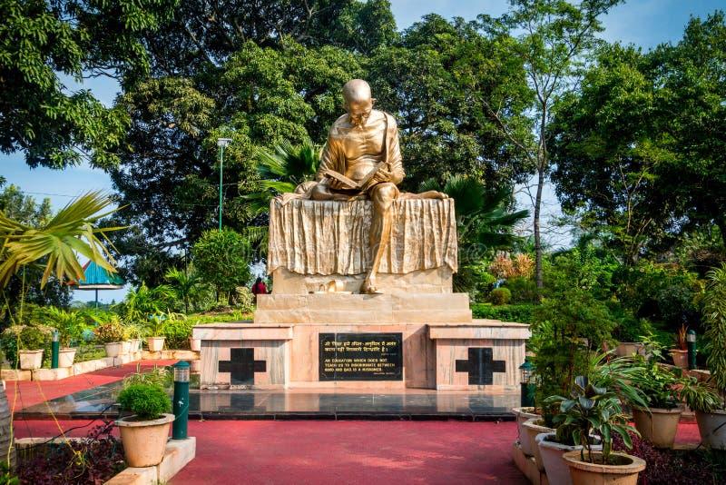 Mahatma Gandhi. The monument royalty free stock images
