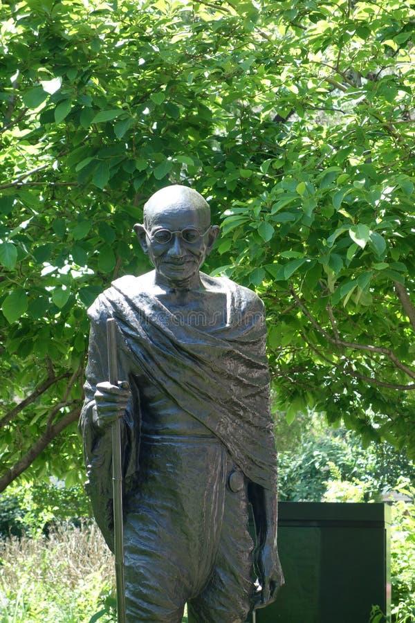 Mahatma Gandhi staty fotografering för bildbyråer