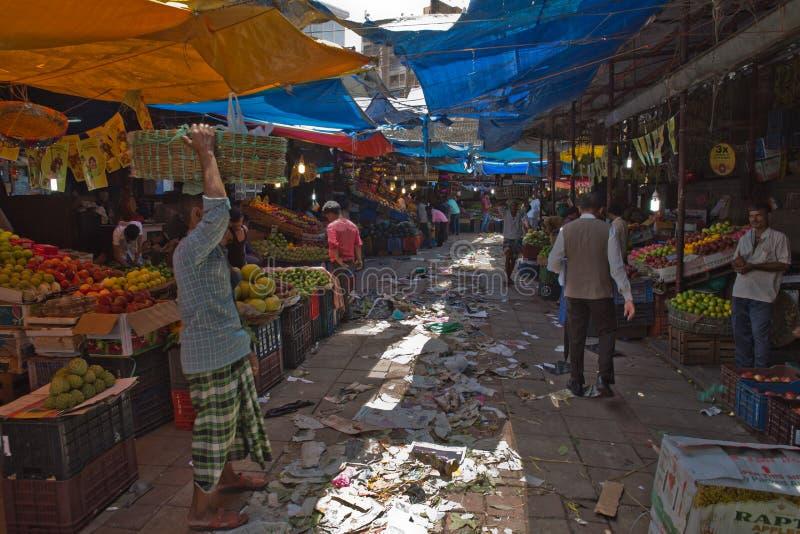 Mahatma Jyotiba Phule Mandai y x28; Crawford Market y x29; fotos de archivo