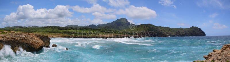Mahaulepusleep dichtbij Poipu, Kauai royalty-vrije stock foto
