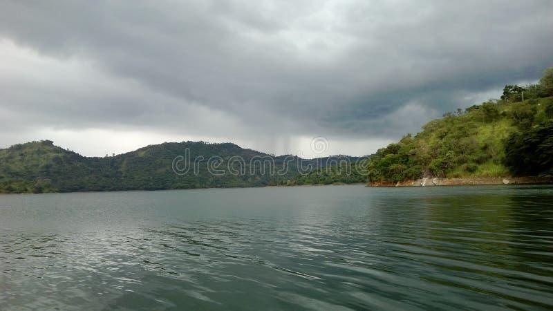 Mahavali flod i Sri Lanka fotografering för bildbyråer