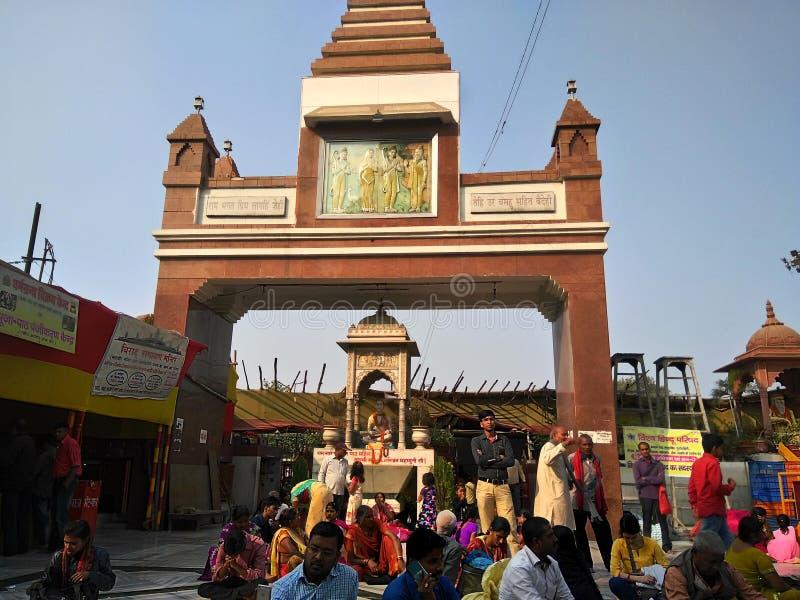 MAHAVEER寺庙,巴特那,印度 免版税库存图片