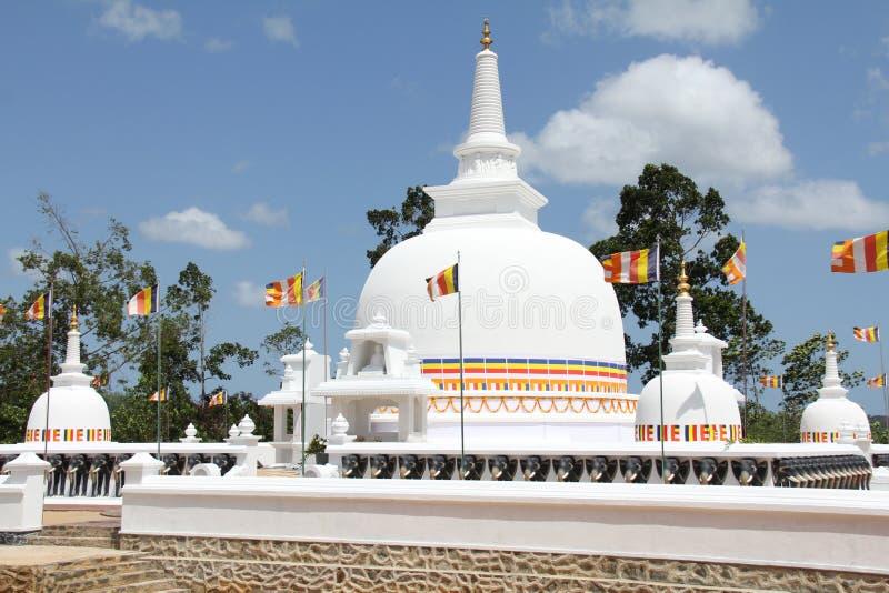 Mahaviharaya di Mahamevnawa fotografia stock