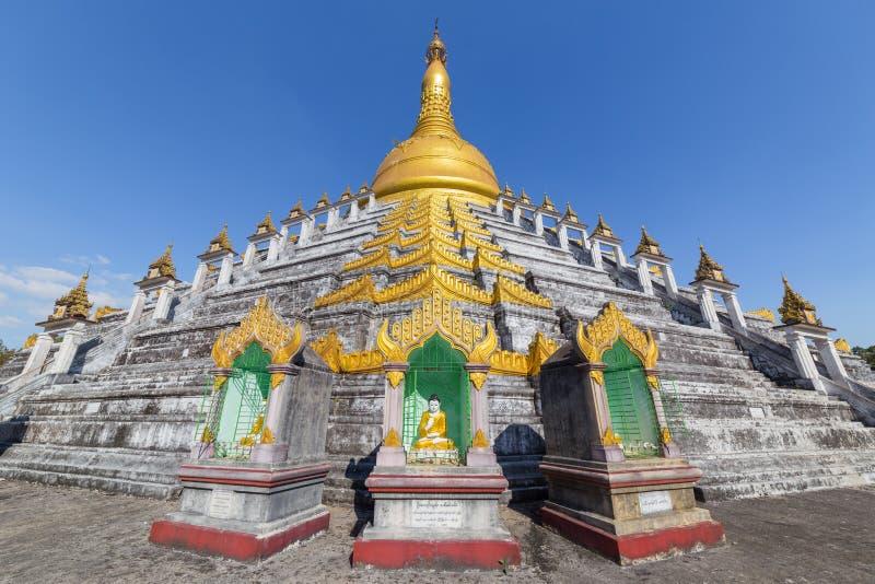 Mahazedi pagoda at Bago, Myanmar. Mahazedi pagoda at Bago, in Myanmar stock image