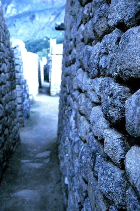 Mahcu Picchu- Peru stock fotografie