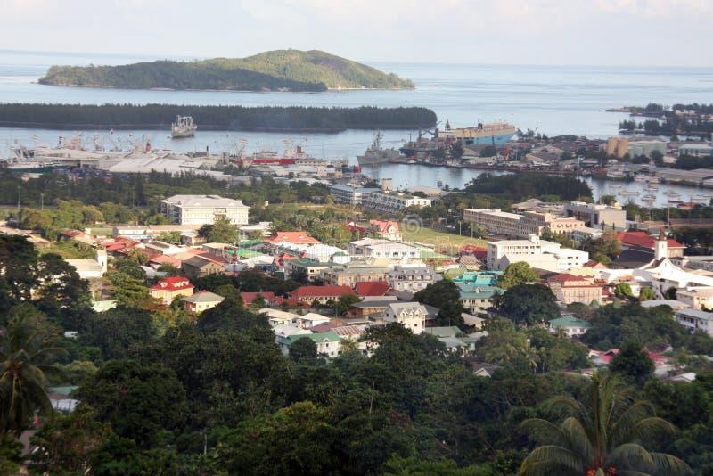 mahe塞舌尔群岛 库存照片