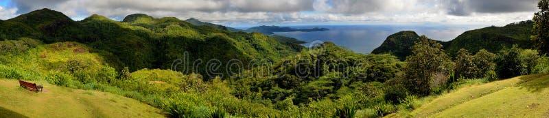 mahe panorama Seychelles zdjęcie royalty free