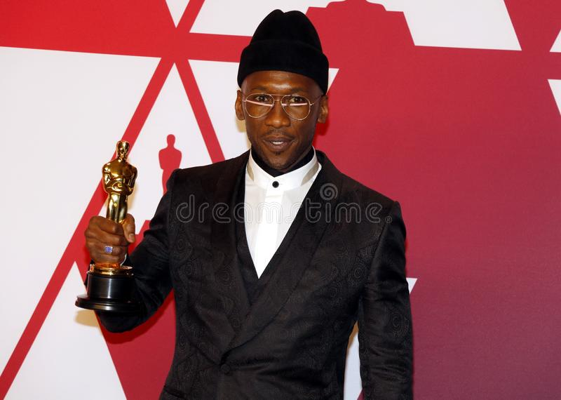 Mahershala Ali. At the 91st Annual Academy Awards - Press Room held at the Loews Hotel in Hollywood, USA on February 24, 2019 stock image