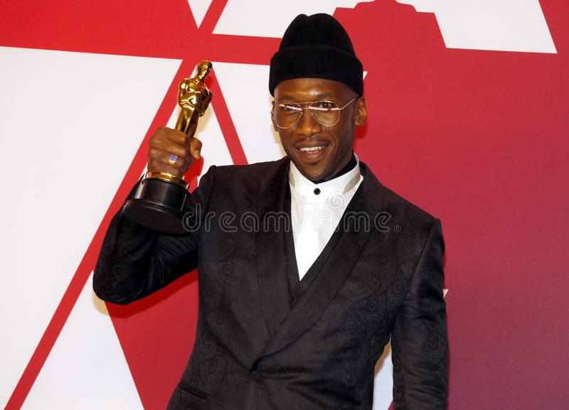 Mahershala Ali. At the 91st Annual Academy Awards - Press Room held at the Loews Hotel in Hollywood, USA on February 24, 2019 royalty free stock image