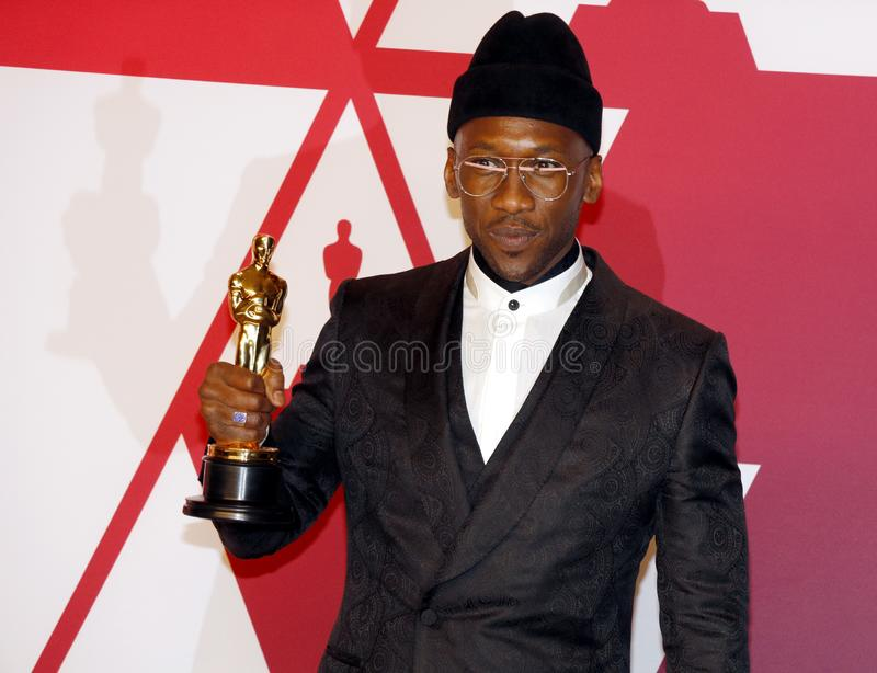 Mahershala Ali. At the 91st Annual Academy Awards - Press Room held at the Loews Hotel in Hollywood, USA on February 24, 2019 royalty free stock images