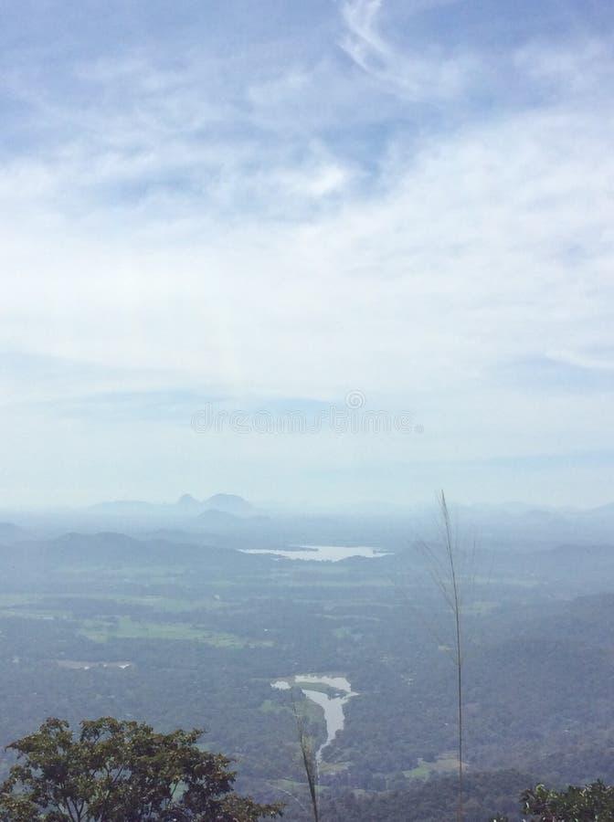 Mahiyanganaya天空视图  免版税库存图片
