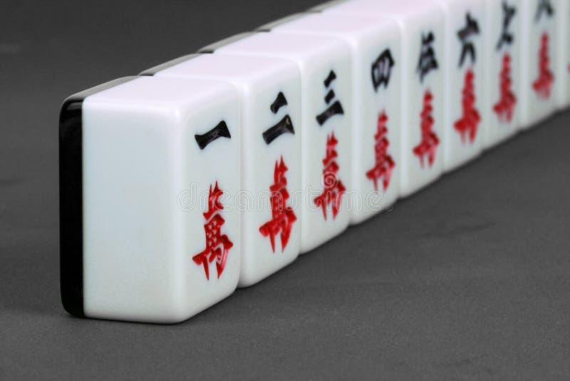 Mahjong stock photography