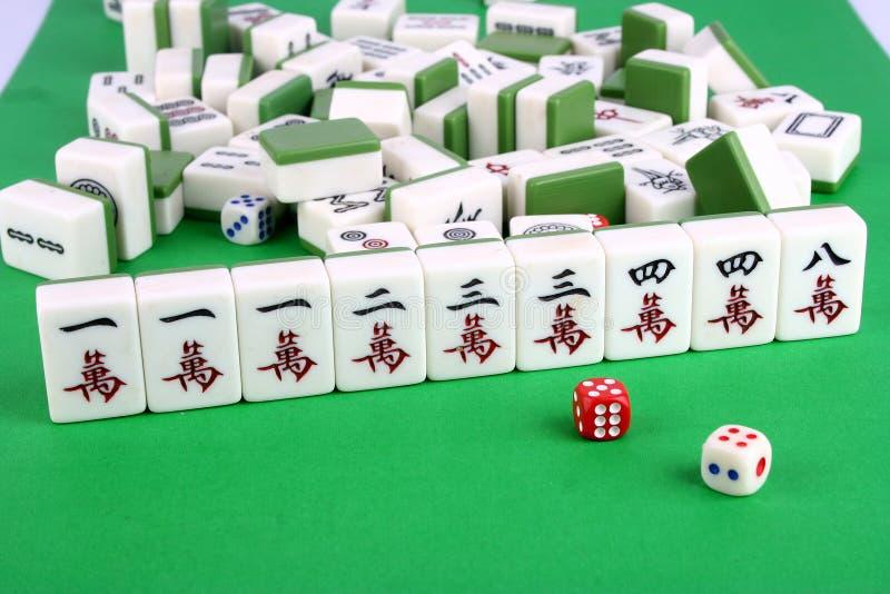 Mahjong stock afbeeldingen