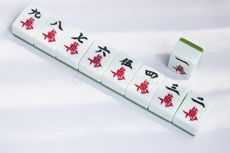 Mahjong imagen de archivo libre de regalías