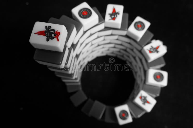Mahjong lizenzfreies stockbild