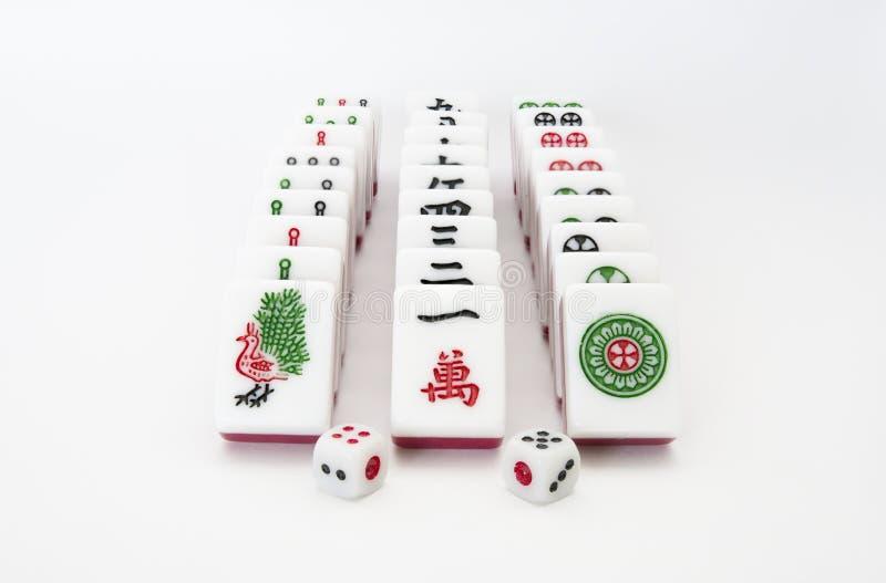Mahjong stockfoto
