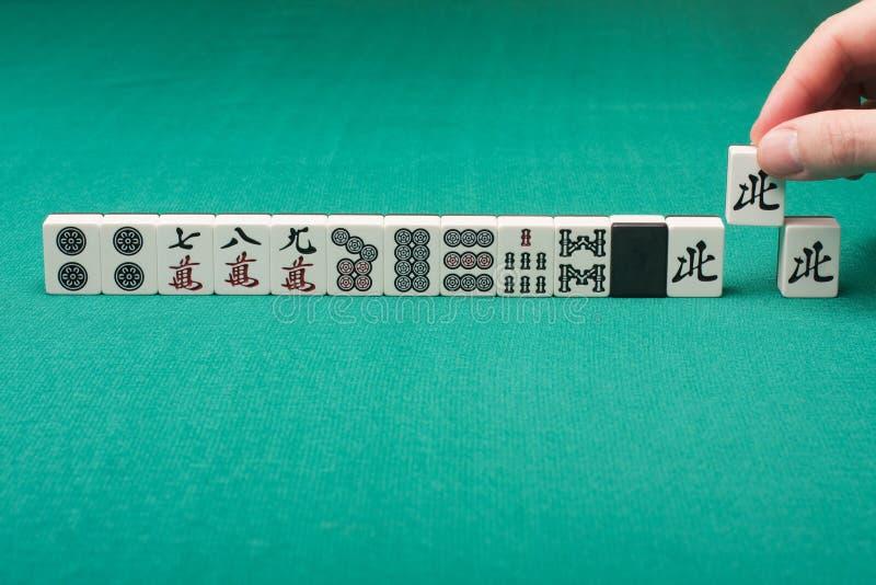 Mahjong lizenzfreie stockfotografie