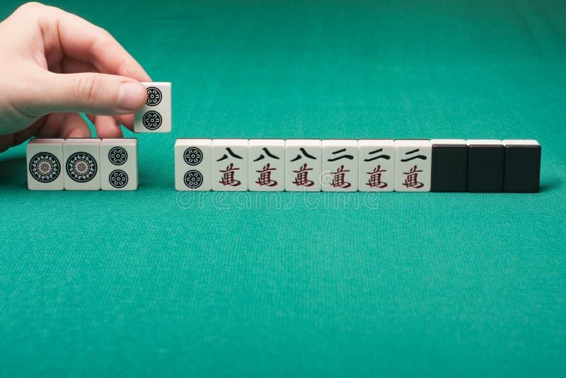 Mahjong stockfotografie