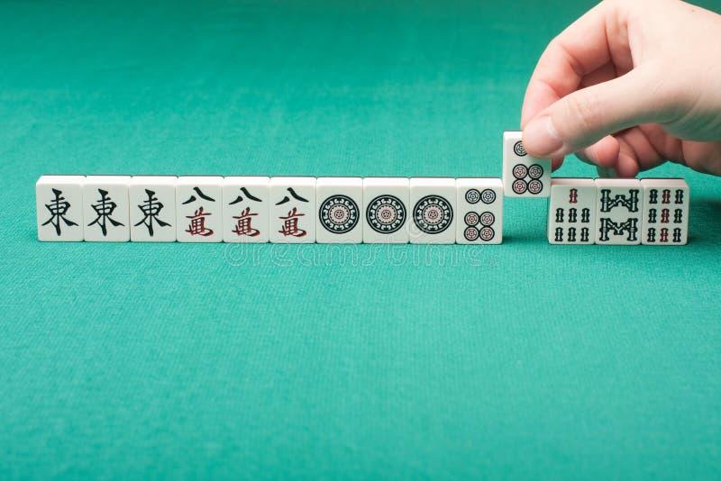 Mahjong stockbilder