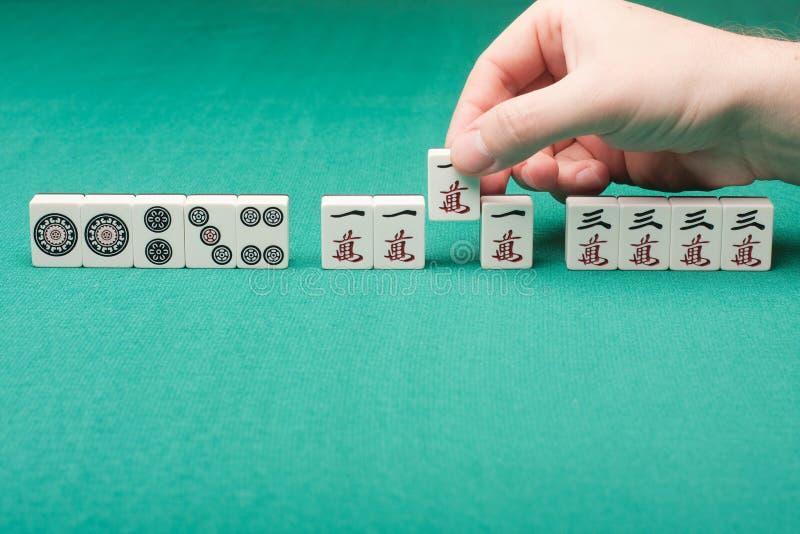 Mahjong royaltyfri foto