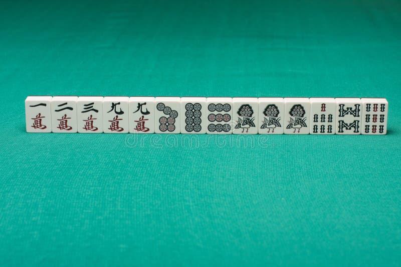 Mahjong arkivbilder