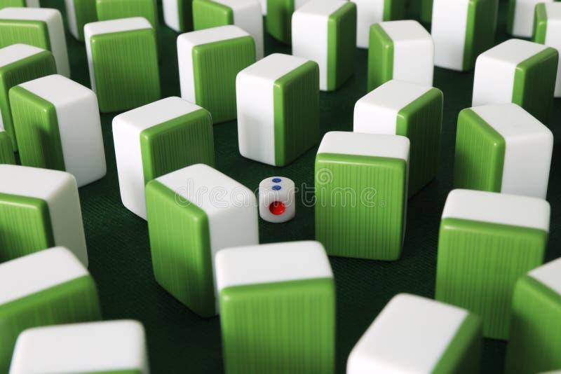 Mahjong 库存图片