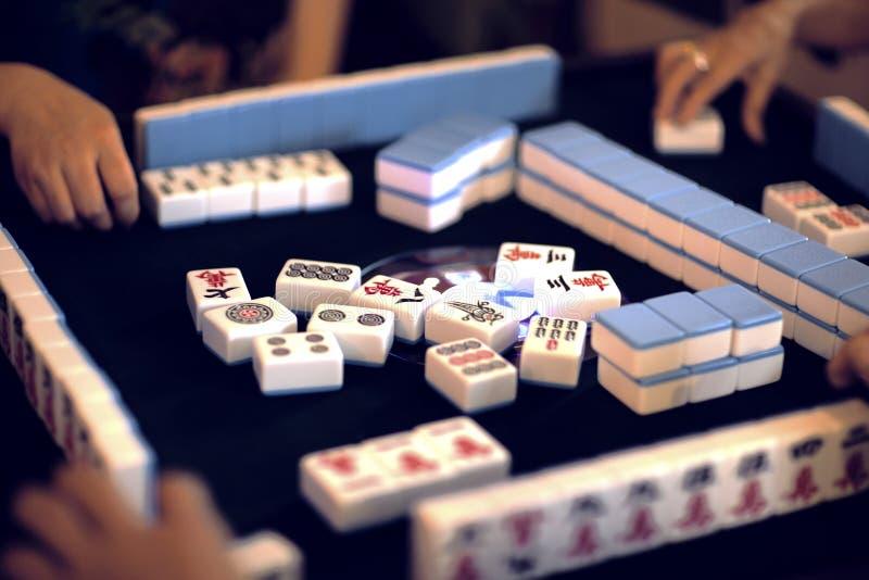 Mahjong chino foto de archivo libre de regalías