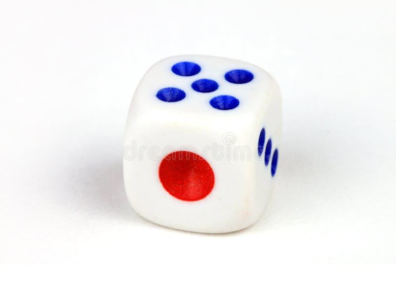 Mahjong dice stock images