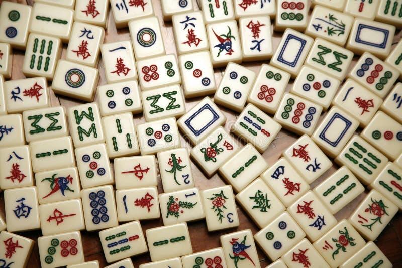 mahjong kafli. obraz stock
