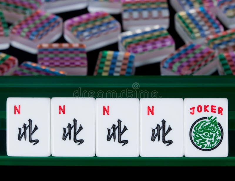 mahjong płytki zdjęcia royalty free