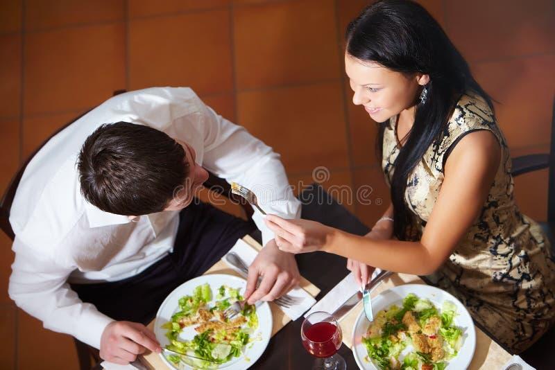 Mahlzeit stockbild