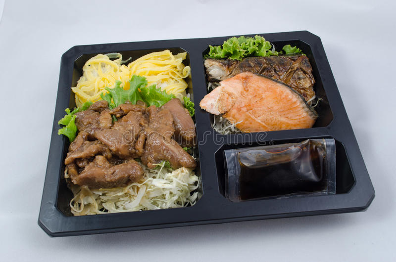 Mahlzeitguckkastenbühne der japanischen Art lizenzfreies stockbild