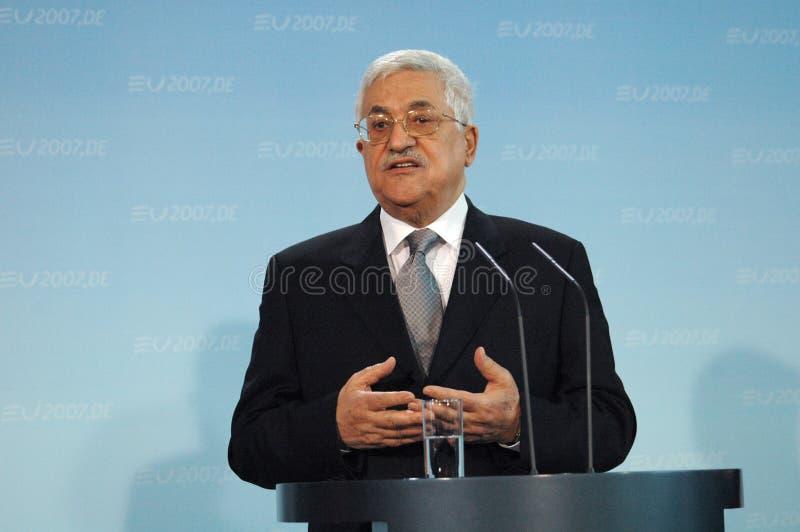 Mahmud Abbas zdjęcie stock