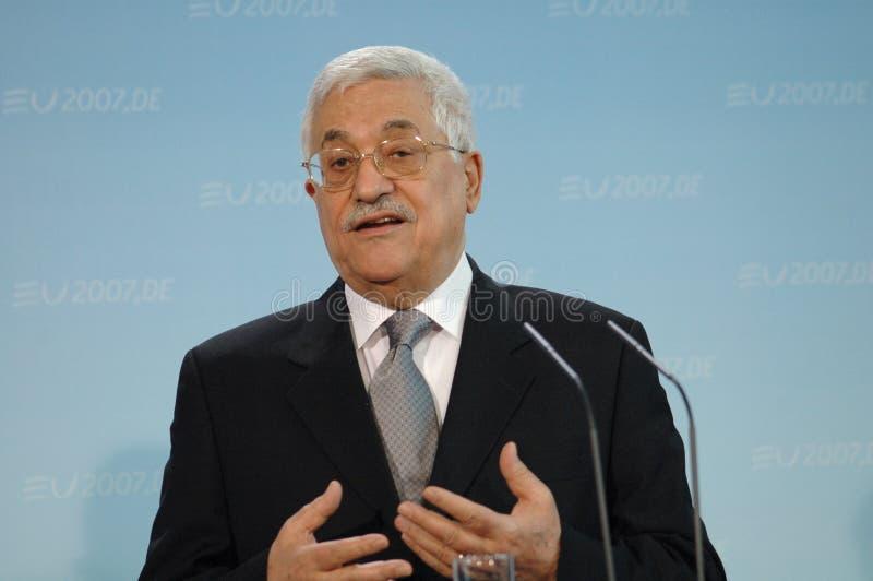 Mahmud Abbas obraz stock