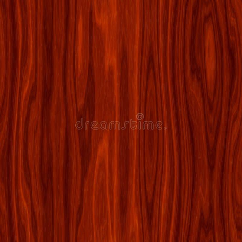 Mahogany texture royalty free illustration