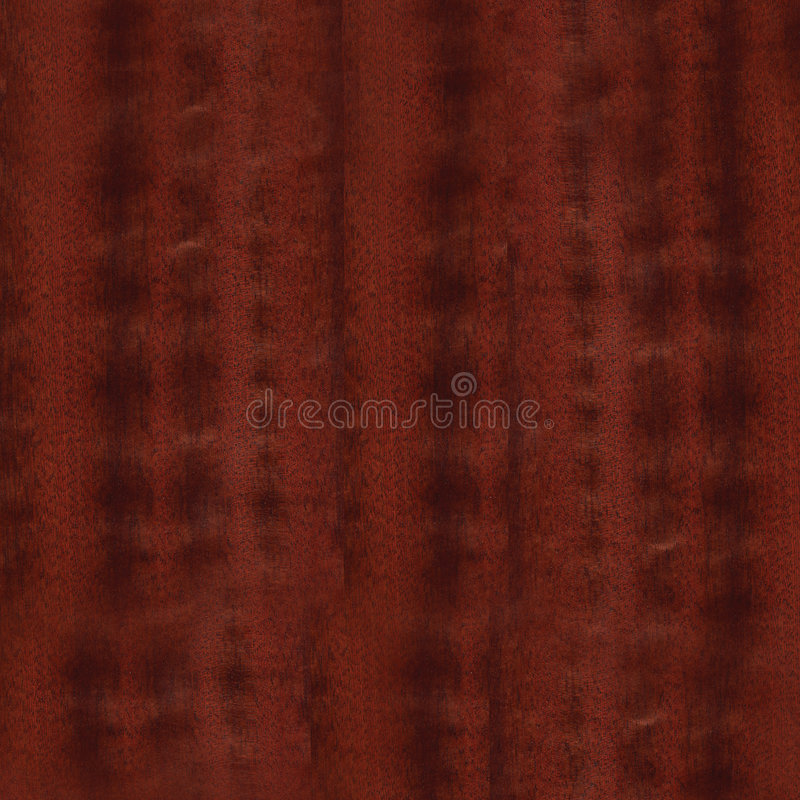 Mahogany Wood Grain background royalty free illustration