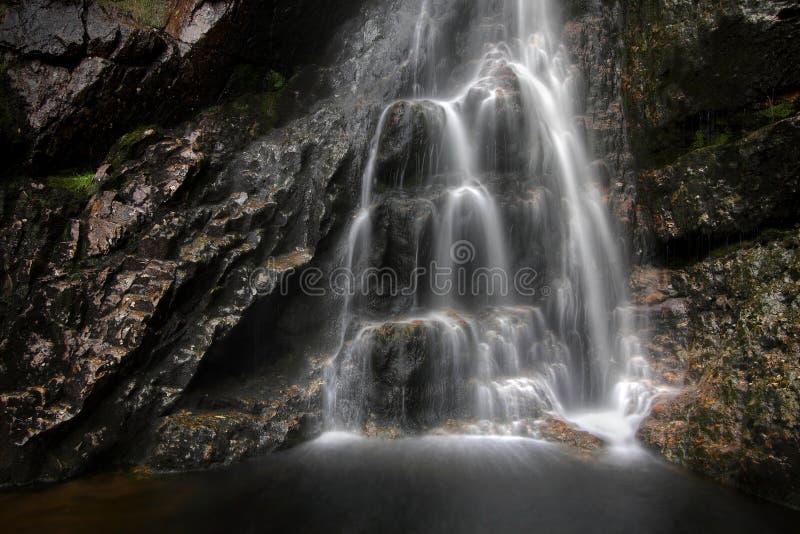 Mahon vattenfall royaltyfria bilder