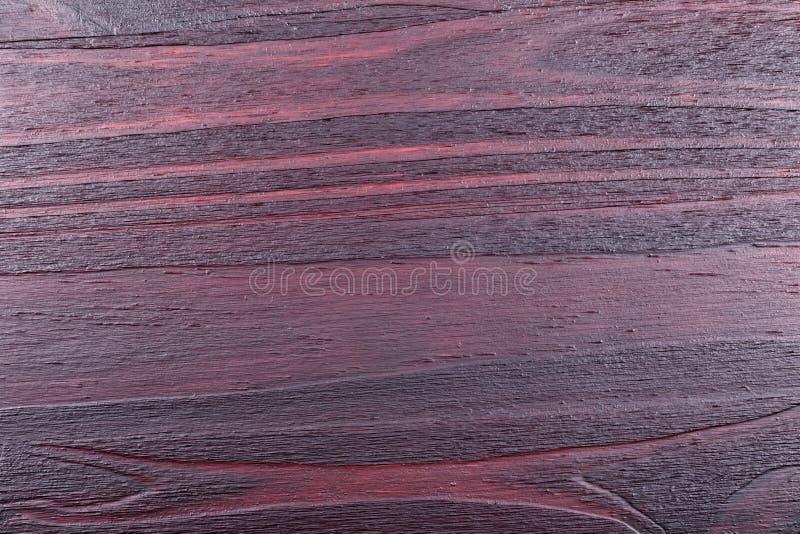 Mahoniu polakierowany drewniany tło bez sanding obraz stock
