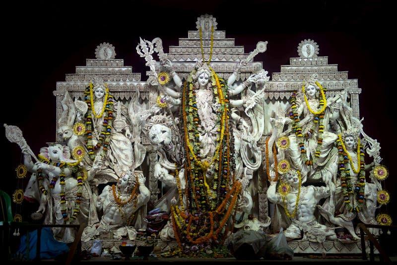 Mahotsav-запад Бенгалия Durga Puja стоковые фотографии rf