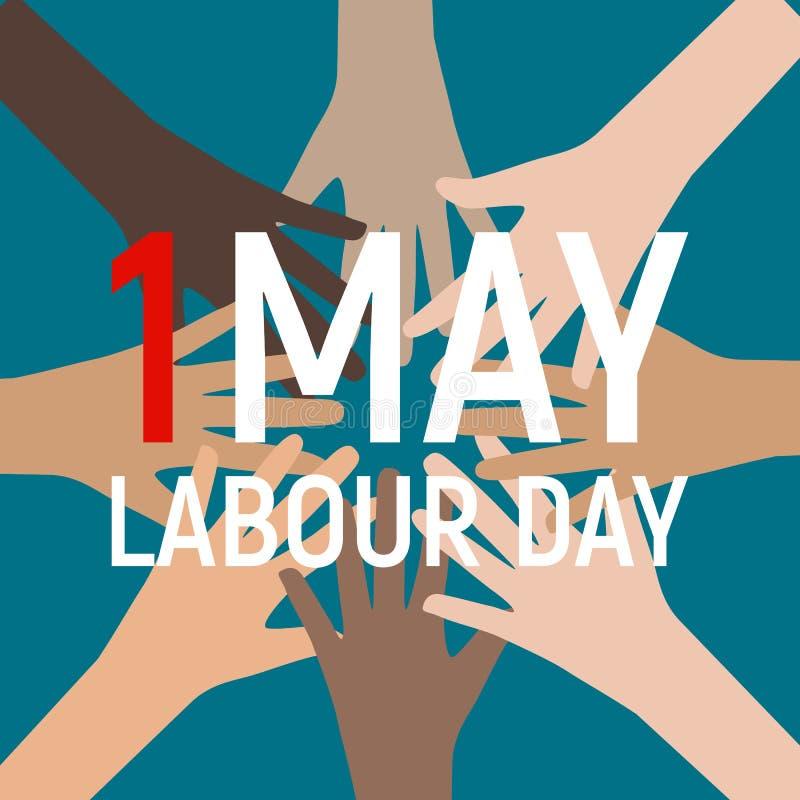 Download 1. Mai Arbeitstagesplakat Oder -fahne Auch Im Corel Abgehobenen Betrag Vektor Abbildung - Illustration von eingebürgert, land: 90232941