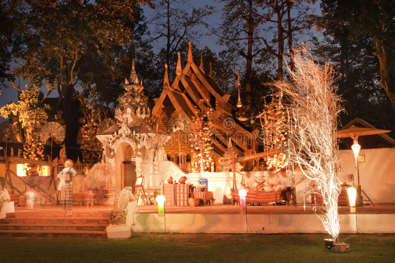 MAI DI CHAIANG, TAILANDIA - 26 GENNAIO 2014: La località di soggiorno di lusso: M. fotografie stock
